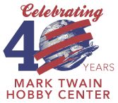 Mark Twain Hobby Center Logo